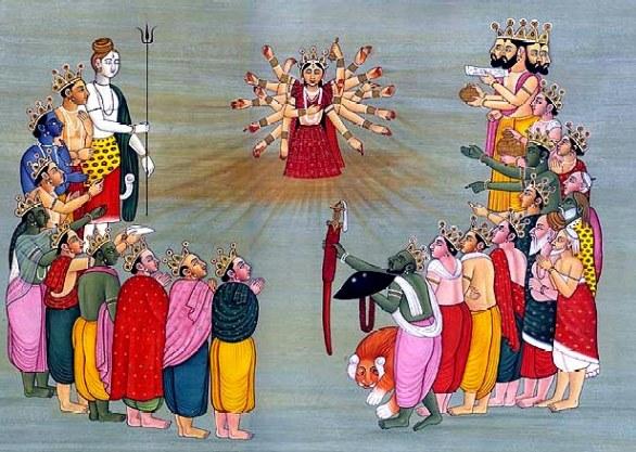 relationship between brahma vishnu and shiva pictures
