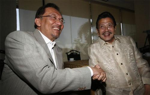 Anwar yang mendamaikan MILF-Filipina, bukan Najib!
