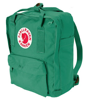 fjallraven teal green mini day pack