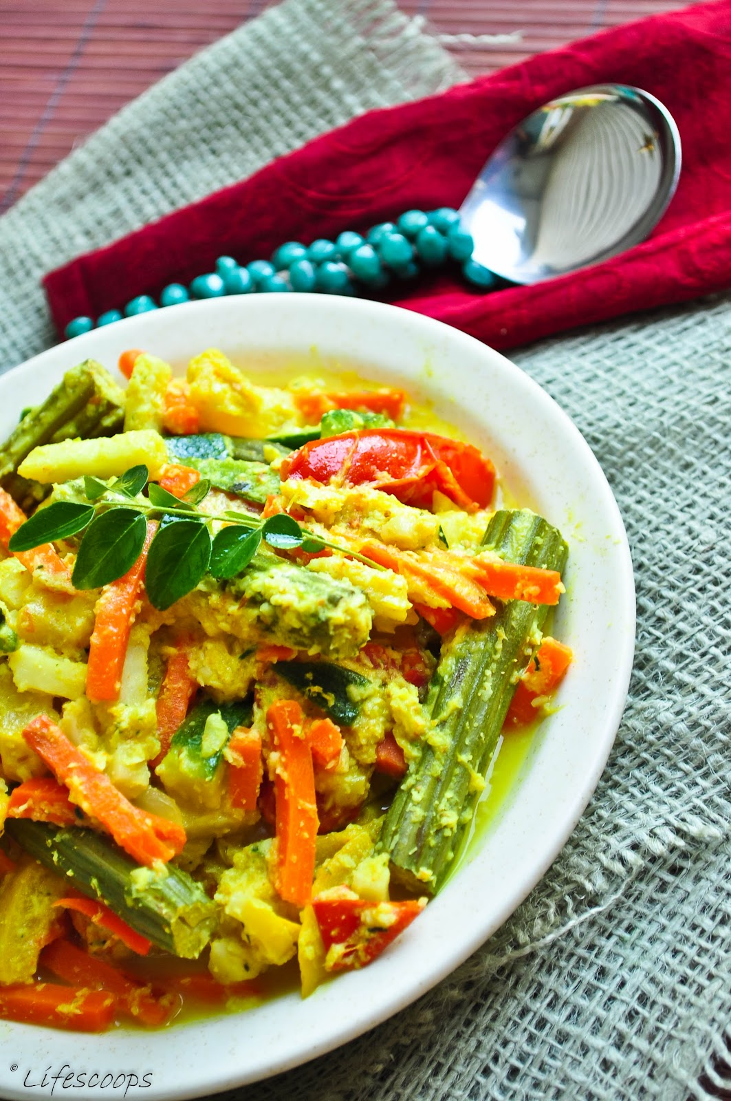Life scoops kerala style avial mixed vegetables in coconut and life scoops forumfinder Gallery