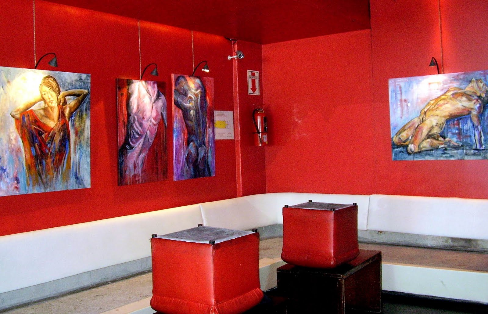 Alejandra Tejeira - Consultora de Arte: Montaje de la muestra ...