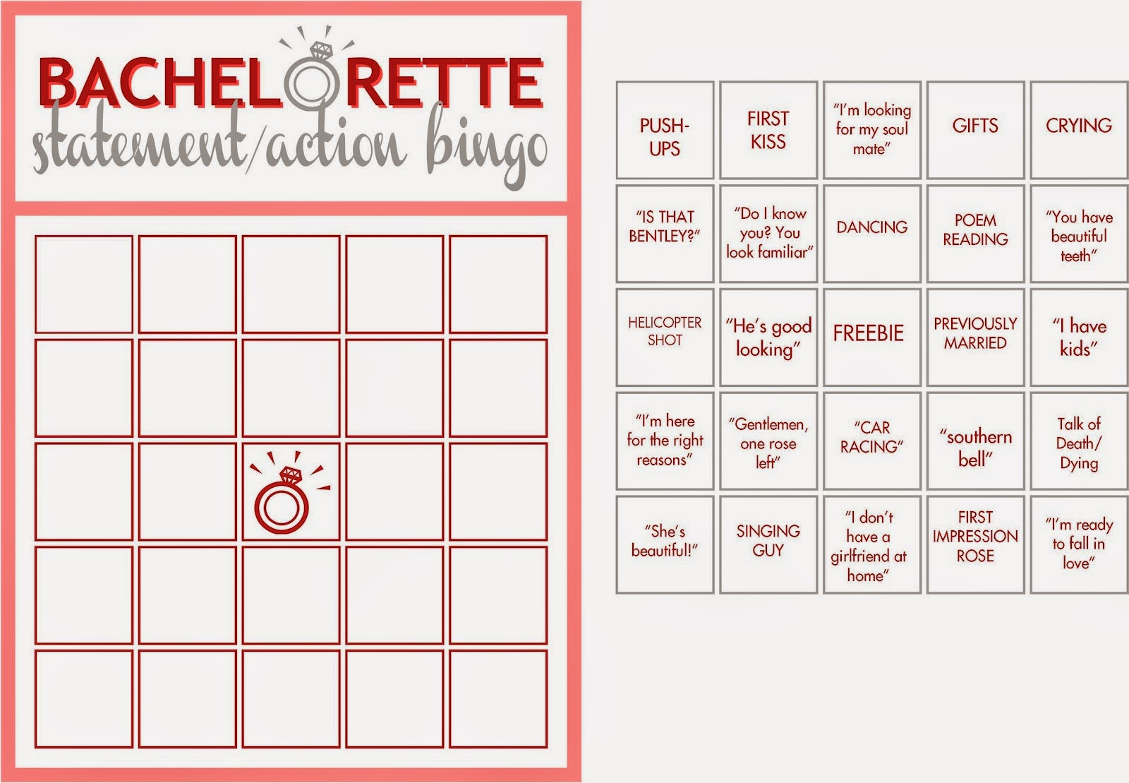 image about Bachelorette Bracket Printable titled Novices Rule: The Bachelorette Premiere Traveling to Get together: Andi
