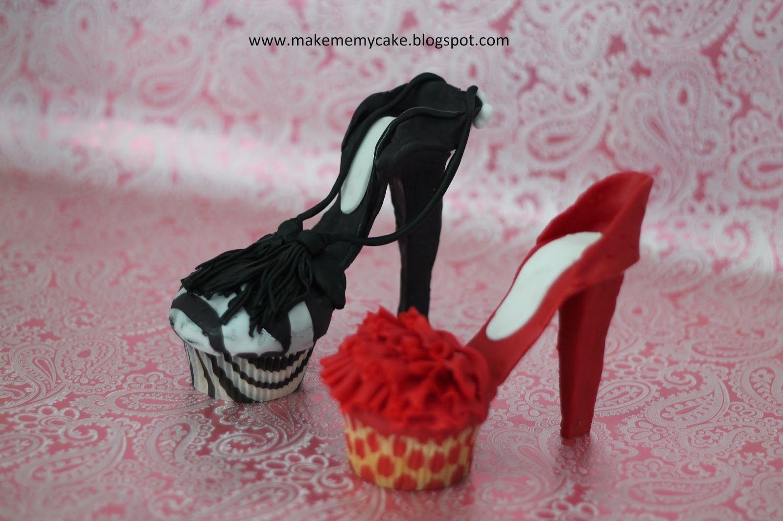 How To Make High Heel Shoe Cupcakes