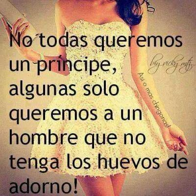 actitud mujer frases