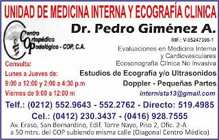Dr.PEDRO GIMENEZ  en Paginas Amarillas tu guia Comercial