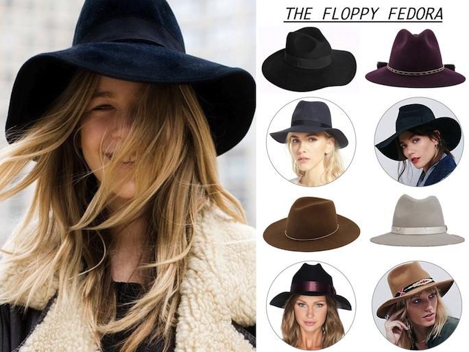 Floppy Fedora Hats