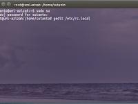 Autostart lampp saat komputer dinyalakan pada linux ubuntu