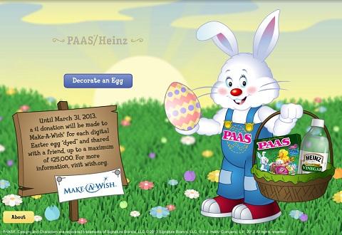 online egg decorating