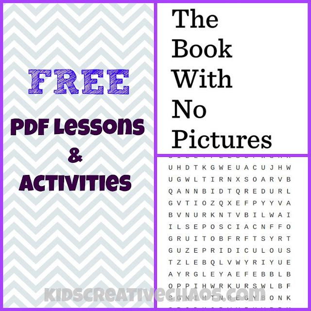 Free Lesson Activities for the Book with No Pictures