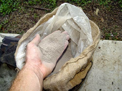 Concrete Mix In Clay : Refractory product tips and update to make home made