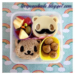 Cute-Z-Cute Panda Sandwiches