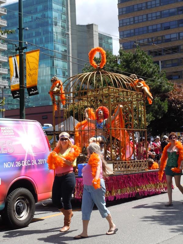 Vancouver Pride Parade Birdcage
