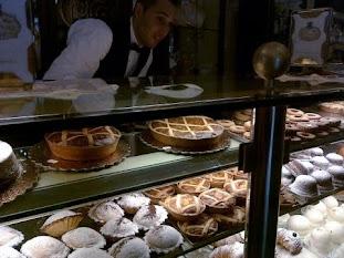 My favorite cafe in Amalfi