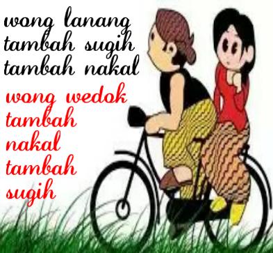 DP BBM Bahasa Jawa Gokil Terbaru