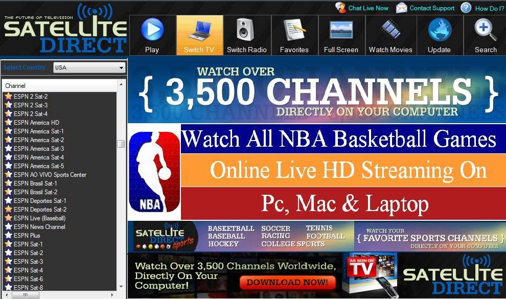 espn2 online free watch