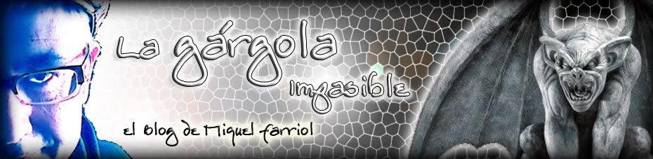 LA GÁRGOLA IMPASIBLE — MIQUEL FARRIOL — RELATOS