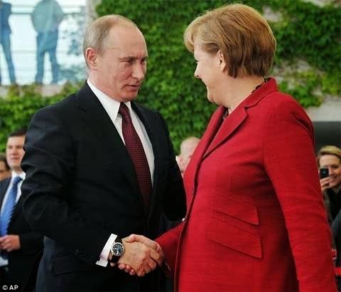 Bộ sưu tập đồng hồ đeo tay của tổng thống Nga