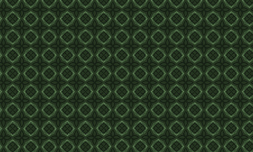 Diamond green pattern