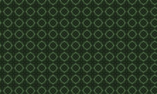 Diamond green pattern