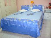 Roupa de Camacompleta (com saiote para cama box)