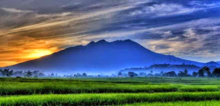 Gunung Lawu di Karanganyar, Jawa Tengah