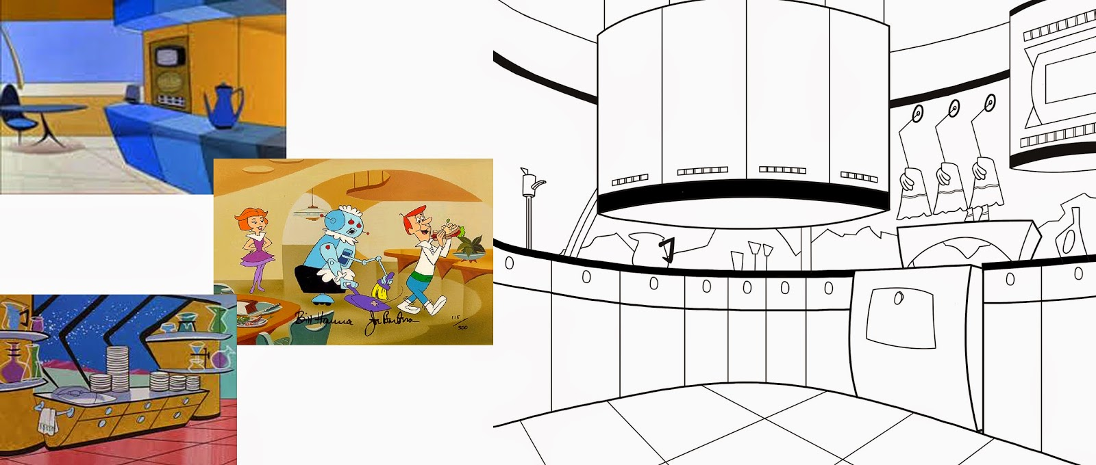 JC Animations and Illustrations: Futuristic Kitchen