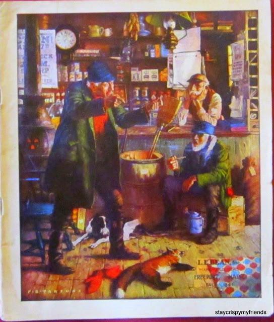 LL Bean Fall Catalog 1941 Vintage Pendleton Parka Husdon Bay Point Blankets