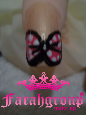 Nail art minnie mouse inspiration
