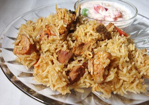 How To Make Mutton Biryani Biryani Recipe Images Rice Pics Chicken ...