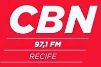 ouvir a Rádio CBN FM 97,1 Recife PE