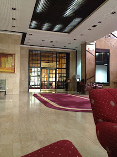 Empfang I'm Hotel Crna Gora in Podgorica