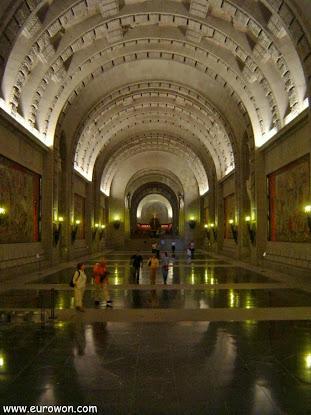 Interior de la Basílica del Valle de los Caídos