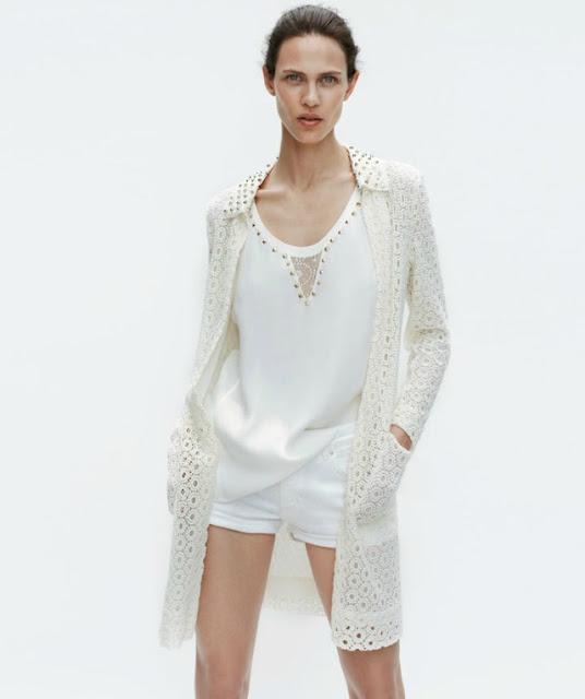white studded