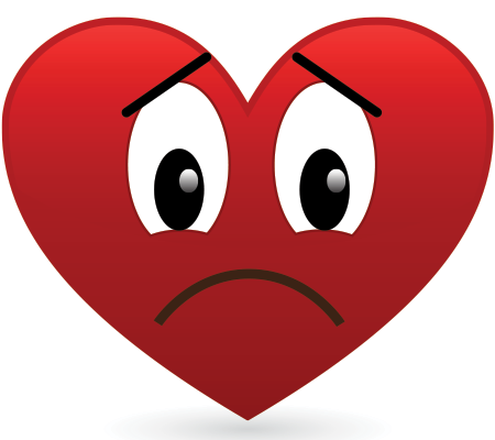 Frowny-Face Heart