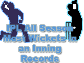 IPL All Season Most Wickets in an IPL Records IPL Purple Cap Logo
