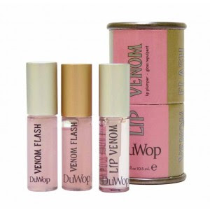 DuWop, DuWop Mini Venom Trio, DuWop Lip Venom Trio, lipgloss, lips, lip gloss, makeup, gift set