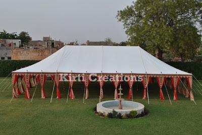 Elegant Indian Tent