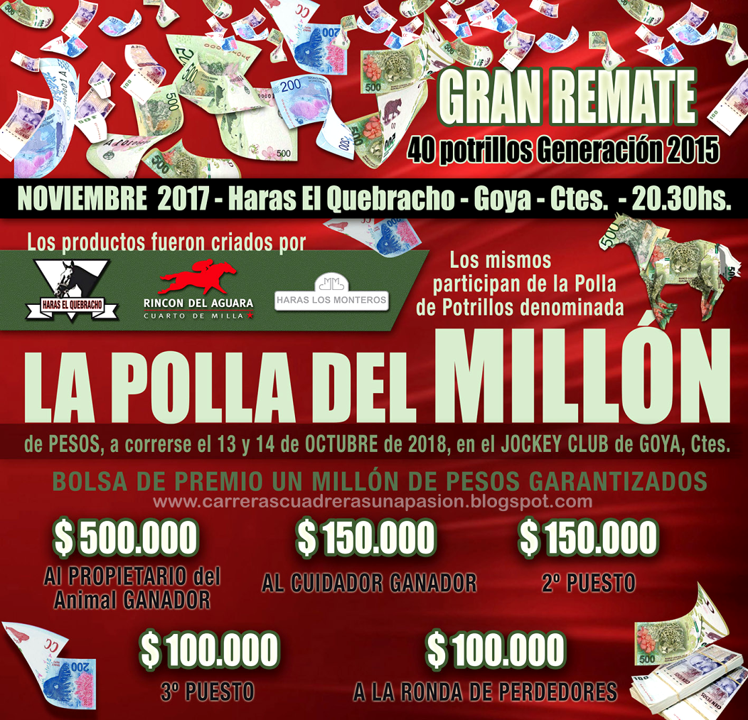 GRAN REMATE DEL MILLON - NOV.