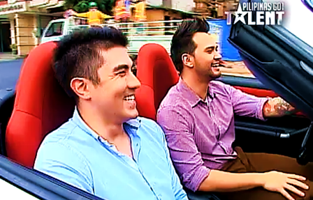 "Pilipinas Got Talent hosts Luis Manzano and Billy Crawford sing ""Tayo'y Mga Pinoy"""