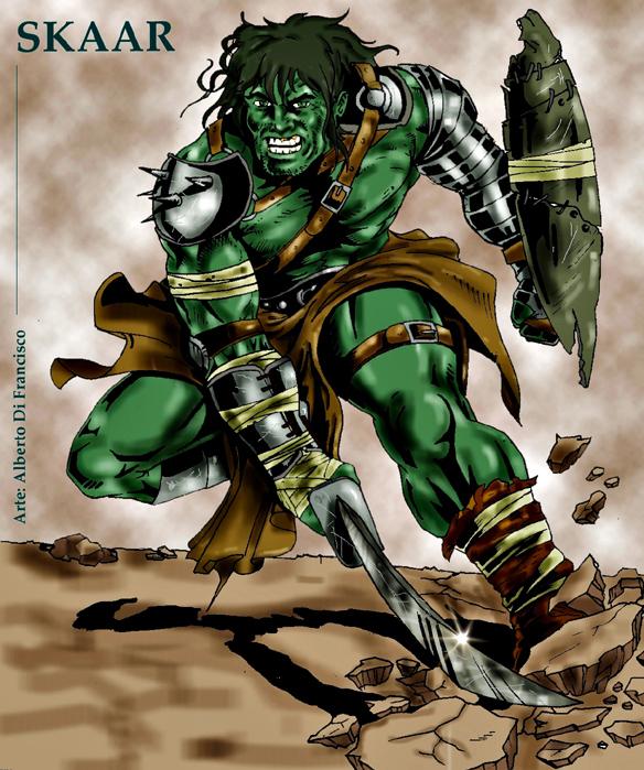 alberto di francisco comic art skaar   hijo de hulk