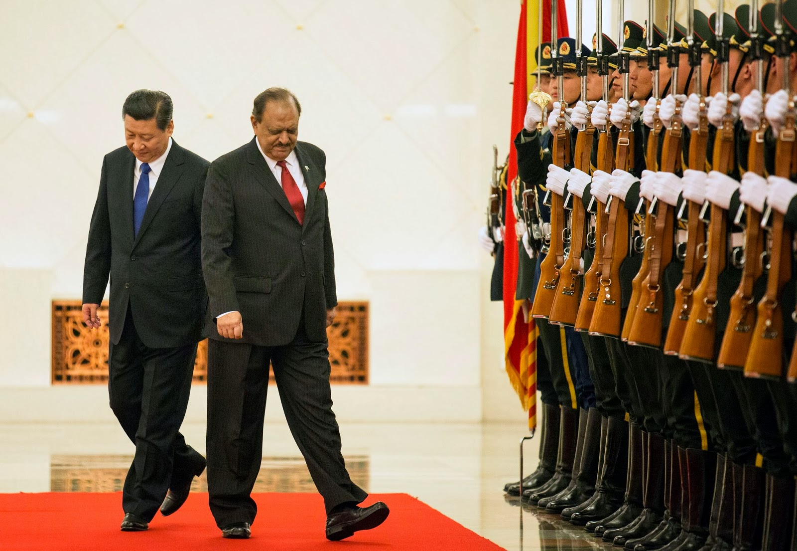China, China Visit, Economy, Great Wall, Mamnoon Hussain, New, Paksitan, Politician, Politicians, Politics, President, Trade, Xi Jinping,