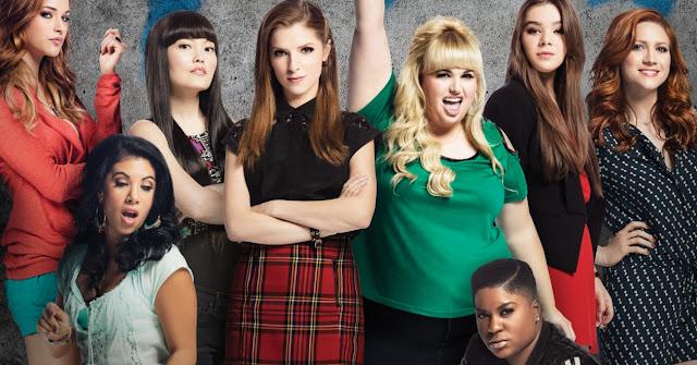 O Barden Bellas se reúne em pôster nacional do filme A Escolha Perfeita 2