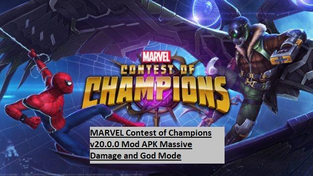 MARVEL Contest of Champions v20.0.0 Mod APK Massive Damage and God Mode