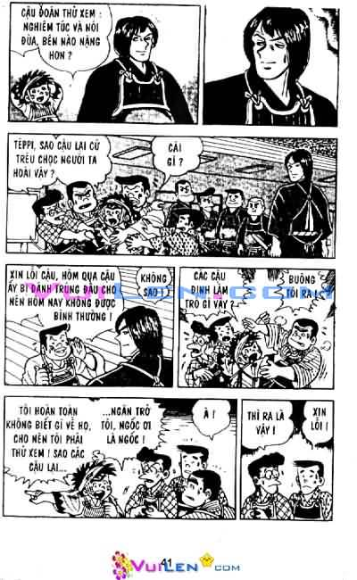 Siêu quậy Teppi chap 29 - Trang 41