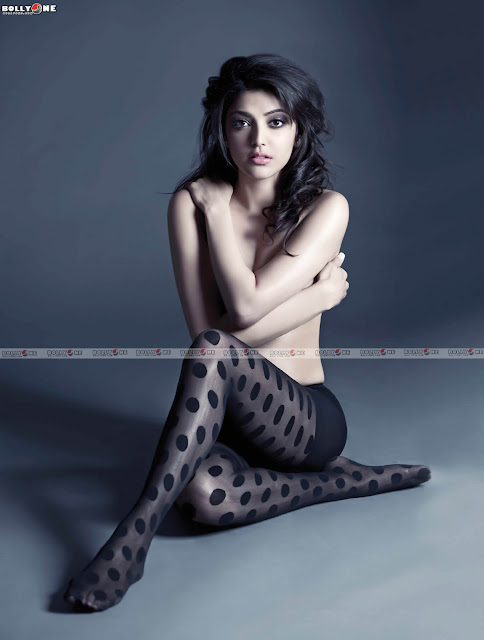 kajal agarwal topless for fhm magazine