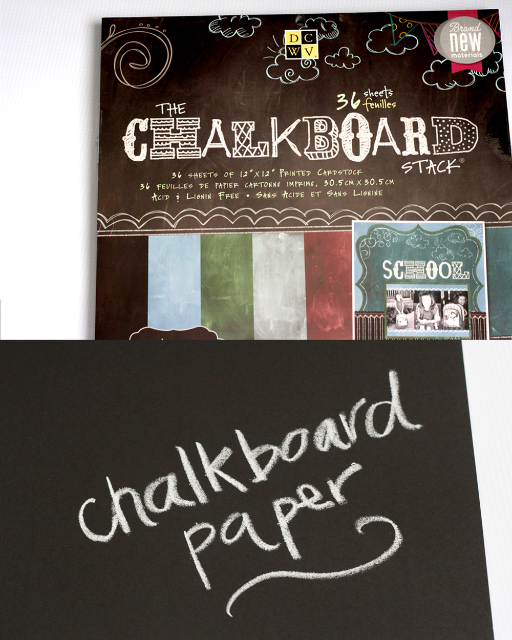 Make a banner with chalkboard paper my sisters suitcase make a banner with chalkboard paper jeuxipadfo Image collections