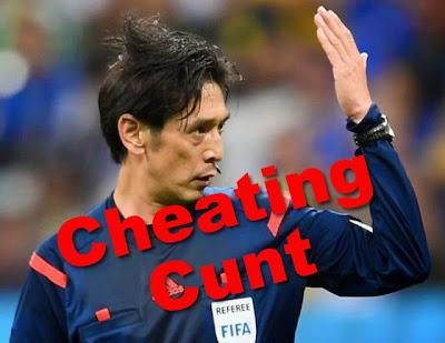 Yuichi Nishimura is a cheater