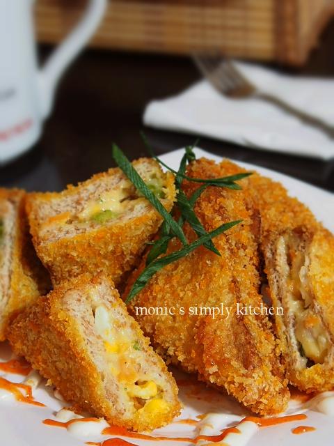 resep roti tawar ragout ayam sayuran