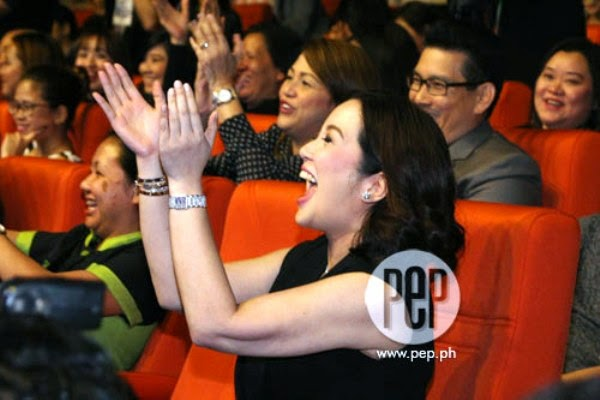 Spotted: Kris Aquino, a picture of a proud mom to Bimby