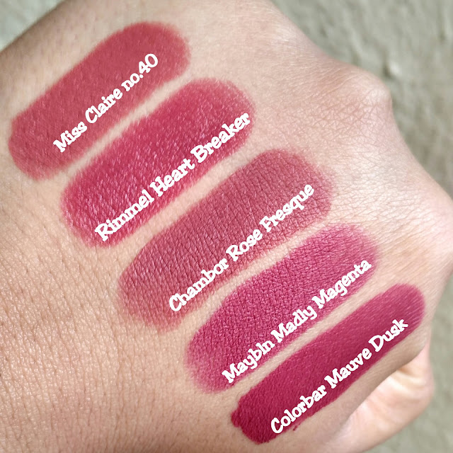 Favourite Lipsticks Series - Top 5 Everyday Shades image